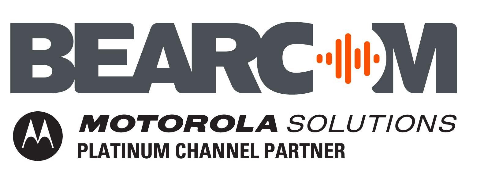 BearCom Logo + Motorola Solutions
